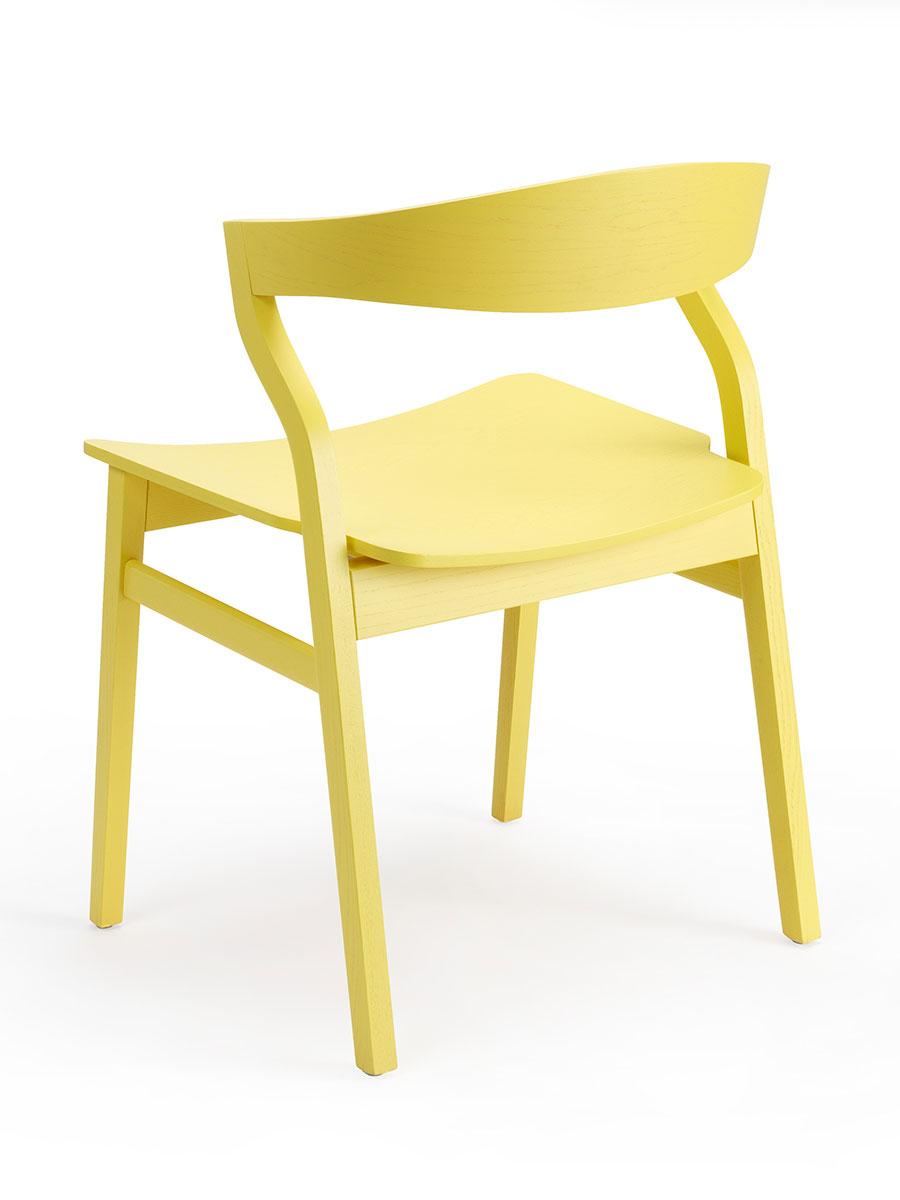 Bedont kalea sedia gialla 5 for Sedia ufficio gialla